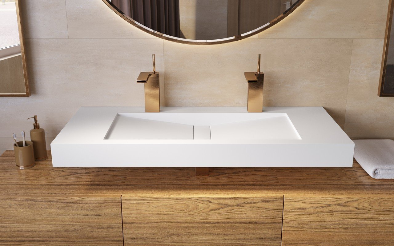 Aquatica Millennium 120 Wht Stone Bathroom Sink 01 (web)