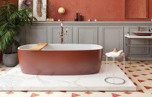 Colored bathtubs picture № 17