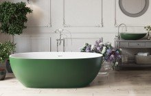 Colored bathtubs picture № 21