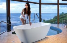 Colored bathtubs picture № 8