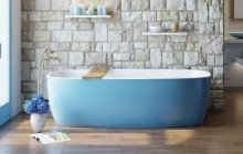 Colored bathtubs picture № 16