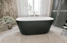 Colored bathtubs picture № 34