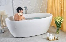Colored bathtubs picture № 44