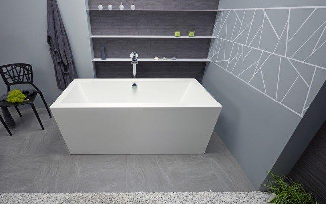 Purescape 026 freestanding acrylic bathtub by Aquatica 01 (web)