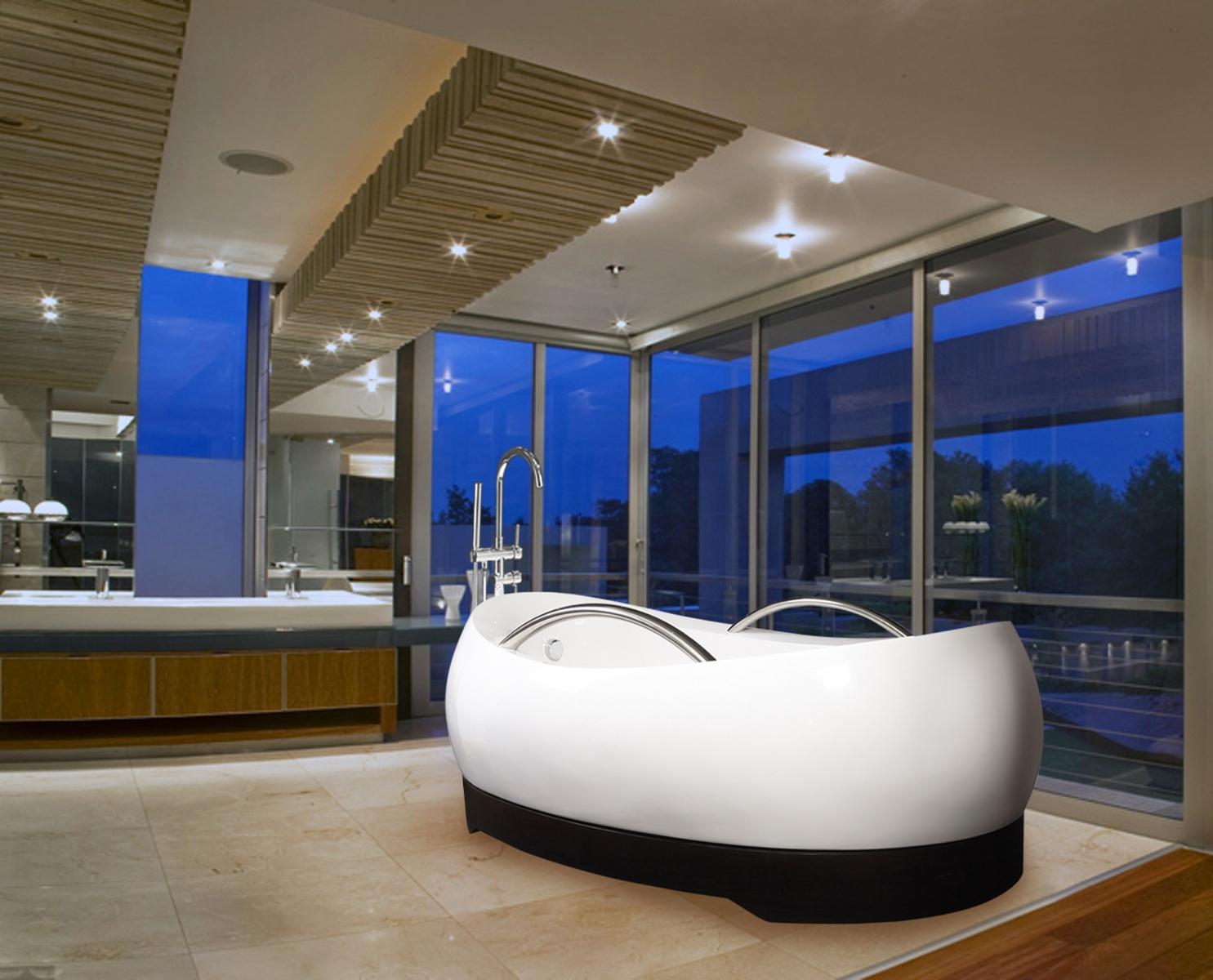 Japanische Badewanne Kaldewei: Die besten 25 badewanne glaswand ...