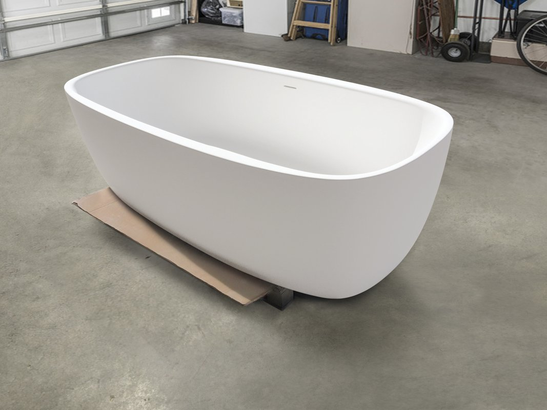 Aquatica coletta white freestanding solid surface bathtub customer images 02 (web)