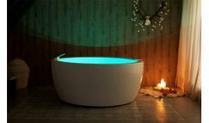 Aquatica Pamela-Wht Relax Luftmassage-Badewanne