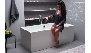Aquatica Continental-Wht™ Freistehende Wanne mit fester Oberfläche